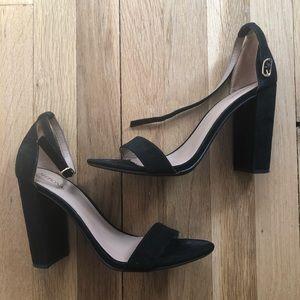 Black Heels Size 9 1/2